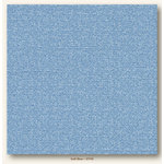 My Colors Cardstock - My Mind's Eye - 12 x 12 Glimmer Cardstock - Soft Blue