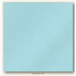 My Colors Cardstock - My Minds Eye - 12 x 12 Glimmer Cardstock - Glacier Blue
