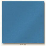 My Colors Cardstock - My Minds Eye - 12 x 12 Glimmer Cardstock - Blue Chip