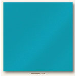 My Colors Cardstock - My Minds Eye - 12 x 12 Glimmer Cardstock - B'dazzled Blue