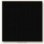 My Colors Cardstock - My Minds Eye - 12 x 12 Mini Dots Cardstock - Black Eyed Susan