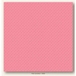 My Colors Cardstock - My Minds Eye - 12 x 12 Mini Dots Cardstock - Pink Carnation