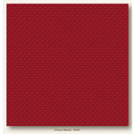 My Colors Cardstock - My Minds Eye - 12 x 12 Mini Dots Cardstock - Crimson Beauty