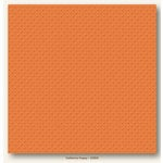 My Colors Cardstock - My Minds Eye - 12 x 12 Mini Dots Cardstock - California Poppy