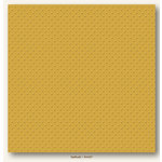 My Colors Cardstock - My Mind's Eye - 12 x 12 Mini Dots Cardstock - Daffodil