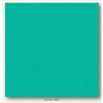 My Colors Cardstock - My Minds Eye - 12 x 12 Mini Dots Cardstock - Sea Holly