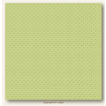 My Colors Cardstock - My Minds Eye - 12 x 12 Mini Dots Cardstock - Waterside Fern