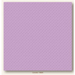 My Colors Cardstock - My Minds Eye - 12 x 12 Mini Dots Cardstock - Lavender