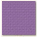 My Colors Cardstock - My Mind's Eye - 12 x 12 Mini Dots Cardstock - Grape Verbena