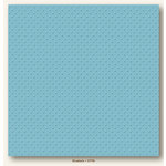 My Colors Cardstock - My Minds Eye - 12 x 12 Mini Dots Cardstock - Bluebells
