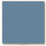 My Colors Cardstock - My Minds Eye - 12 x 12 Mini Dots Cardstock - Blue Clematis'