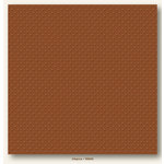 My Colors Cardstock - My Mind's Eye - 12 x 12 Mini Dots Cardstock - Allspice