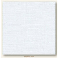 My Colors Cardstock - My Minds Eye - 12 x 12 Canvas Cardstock - Snowbound
