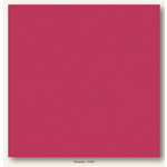 My Colors Cardstock - My Minds Eye - 12 x 12 Canvas Cardstock - Pimento