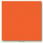 My Colors Cardstock - My Minds Eye - 12 x 12 Canvas Cardstock - Mandarin