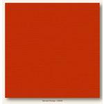 My Colors Cardstock - My Minds Eye - 12 x 12 Canvas Cardstock - Harvest Orange