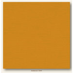My Colors Cardstock - My Mind's Eye - 12 x 12 Canvas Cardstock - Goldenrod