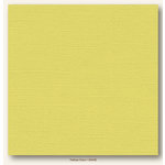 My Colors Cardstock - My Minds Eye - 12 x 12 Canvas Cardstock - Yellow Corn