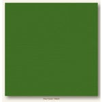 My Colors Cardstock - My Minds Eye - 12 x 12 Canvas Cardstock - Pine Forest