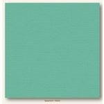 My Colors Cardstock - My Minds Eye - 12 x 12 Canvas Cardstock - Spearmint