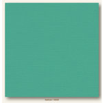 My Colors Cardstock - My Minds Eye - 12 x 12 Canvas Cardstock - Seafoam