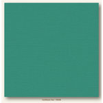 My Colors Cardstock - My Minds Eye - 12 x 12 Canvas Cardstock - Caribbean Sea