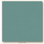 My Colors Cardstock - My Minds Eye - 12 x 12 Canvas Cardstock - Aquamarine