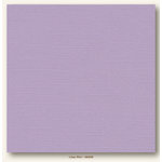 My Colors Cardstock - My Minds Eye - 12 x 12 Canvas Cardstock - Lilac Mist