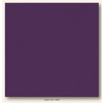 My Colors Cardstock - My Mind's Eye - 12 x 12 Canvas Cardstock - Grape Vine