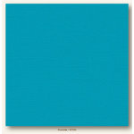 My Colors Cardstock - My Mind's Eye - 12 x 12 Canvas Cardstock - Poolside
