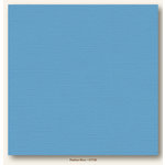 My Colors Cardstock - My Minds Eye - 12 x 12 Canvas Cardstock - Madras Blue