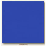 My Colors Cardstock - My Mind's Eye - 12 x 12 Canvas Cardstock - Comodore Blue