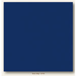 My Colors Cardstock - My Mind's Eye - 12 x 12 Canvas Cardstock - Deep Indigo