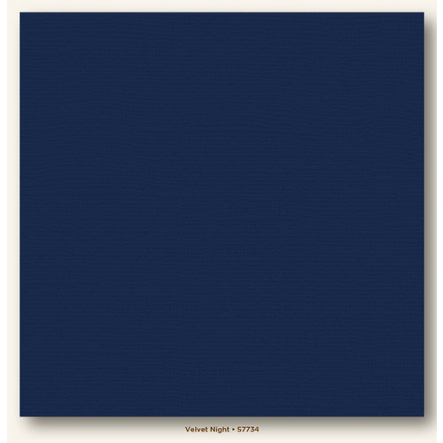 My Colors Cardstock - My Minds Eye - 12 x 12 Canvas Cardstock - Velvet Night