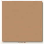 My Colors Cardstock - My Minds Eye - 12 x 12 Canvas Cardstock - Sandy Beach