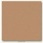 My Colors Cardstock - My Minds Eye - 12 x 12 Canvas Cardstock - Sandy Beach
