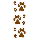 Mrs. Grossman's - Creative Kids Collection - Standard Stickers - Dog Paws