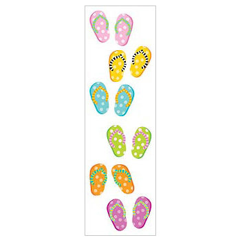 Mrs. Grossman's - Everyday Events Collection - Standard Stickers - Flip Flops