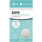 Therm O Web - Memory Zots - Clear Adhesive Dots - Singles Removable