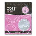 Therm O Web - Memory Zots - Clear Adhesive Dots - Permanent - Singles - Jumbo