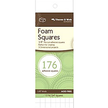 Therm O Web - Foam Squares - White, CLEARANCE