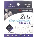 Therm O Web - Memory Zots - Small