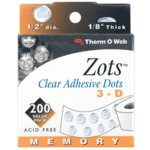 Therm O Web - Memory Zots - 3 D, CLEARANCE