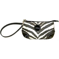 MiMi - Oasis Collection - Designer Wristlet - Zebra Print, CLEARANCE