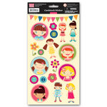 My Little Shoebox - Cute As a Button Collection - Cardstock Stickers, CLEARANCE
