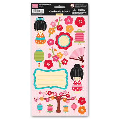 My Little Shoebox - Harmony Collection - Cardstock Stickers