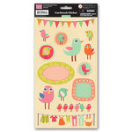 My Little Shoebox - Summer Breeze Collection - Cardstock Stickers