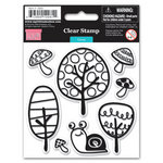 My Little Shoebox - Green Collection - Clear Acrylic Stamps