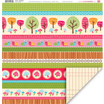 My Little Shoebox - Green Collection - 12 x 12 Double Sided Paper - Portobello