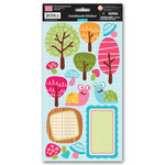 My Little Shoebox - Green Collection - Cardstock Stickers